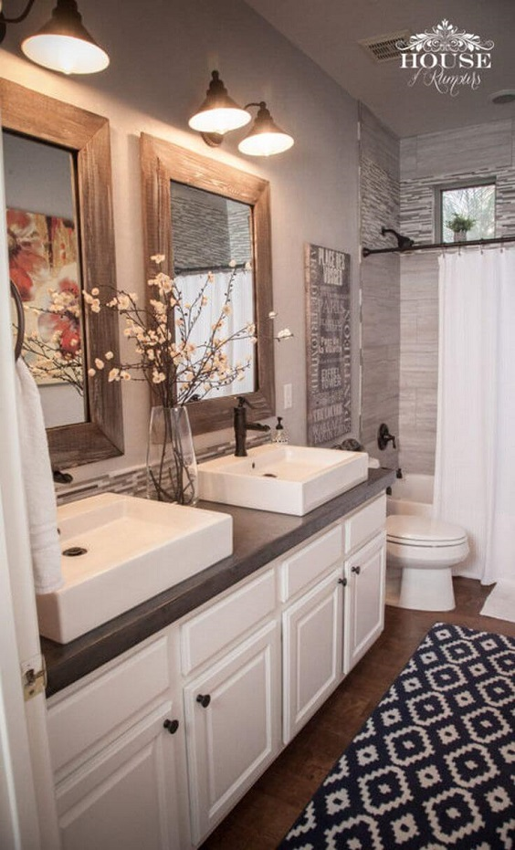 Master Bathroom Ideas: Chic Bathroom