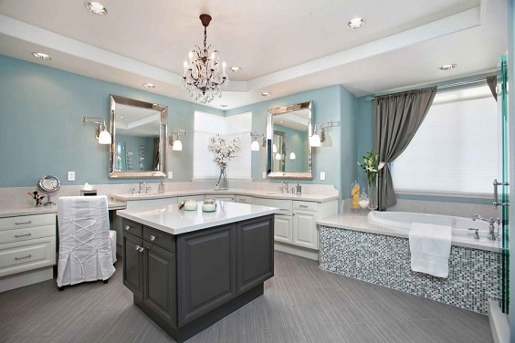 Master Bathroom Ideas: Get the Luxury to Nature Design