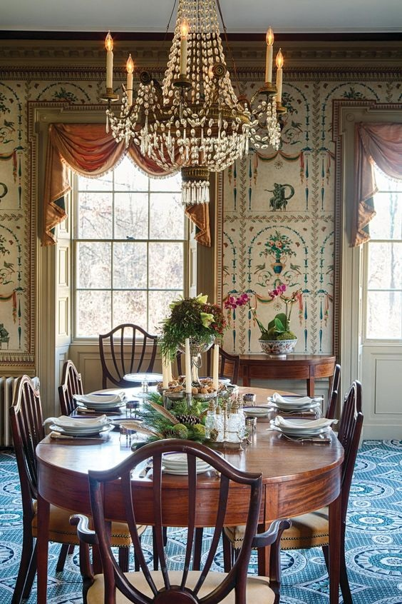 Traditional Dining Room Ideas 6