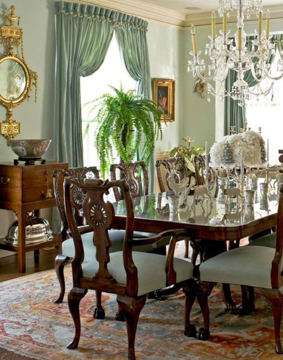 Traditional Dining Room Ideas 8