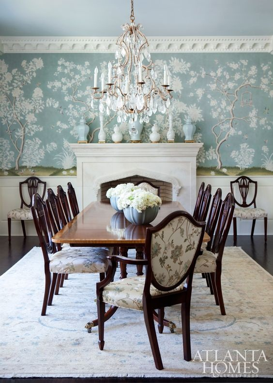 Traditional Dining Room Ideas 11