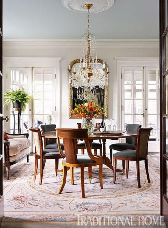 Traditional Dining Room Ideas 14
