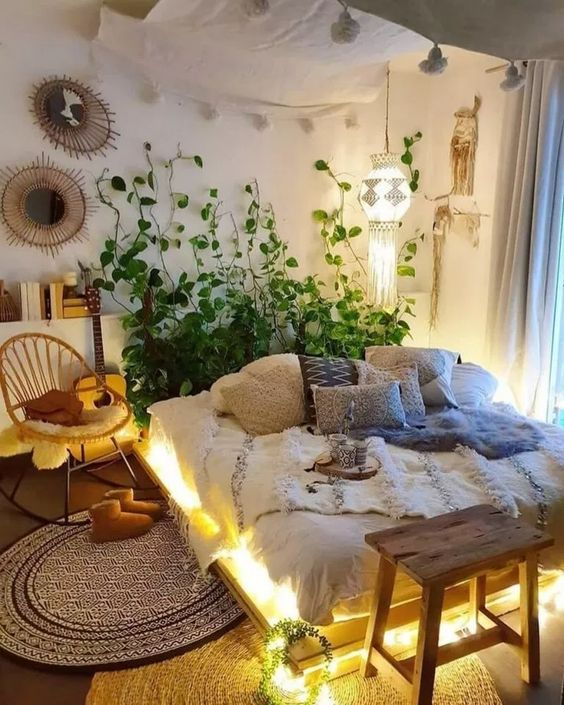 bohemian bedroom ideas 17