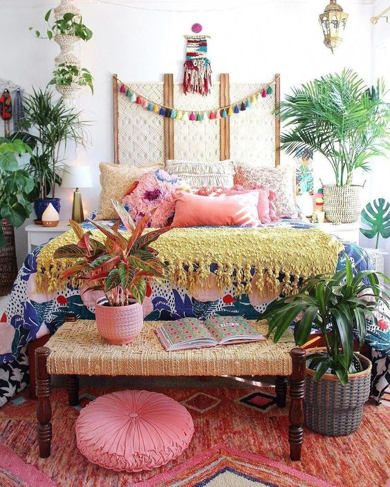 bohemian bedroom ideas 6