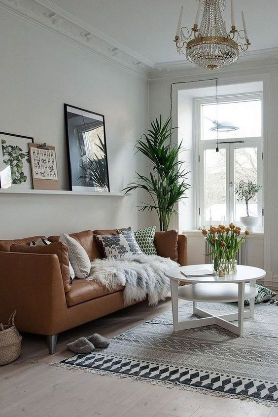 eclectic living room 12