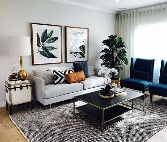eclectic living room 20