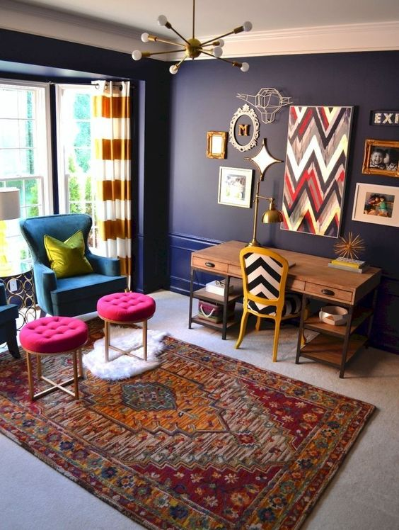 Eclectic Living Room: Catchy Elegant Decor