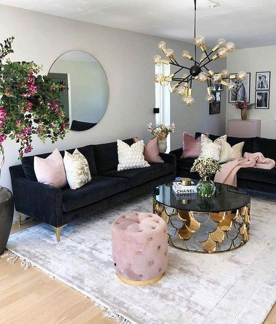 eclectic living room 7