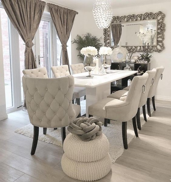 Formal Dining Room Ideas The Choice Of Dining Set And Color Scheme Famedecor Com