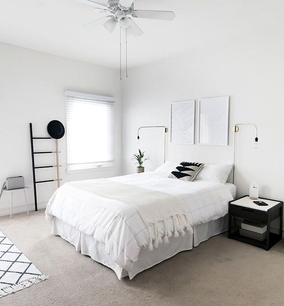 Minimalist Bedroom Ideas: 20+ Design Trends with Latest ... on Neutral Minimalist Bedroom Ideas  id=51526
