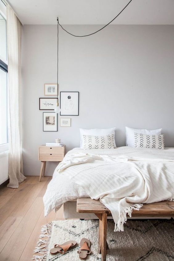 Minimalist Bedroom Ideas: Gorgeous Earthy Decor