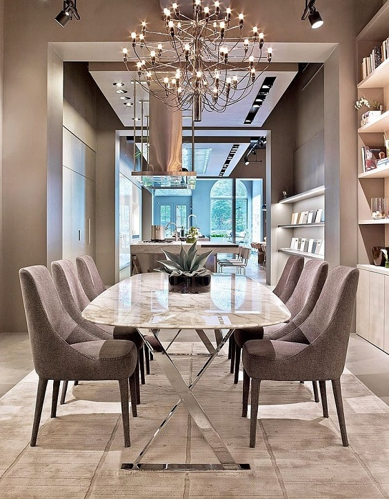 Modern Dining Room Ideas: Elegant Look