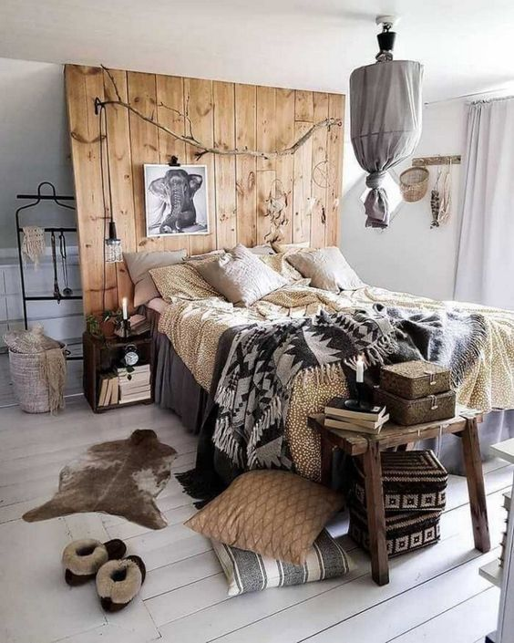 rustic bedroom ideas 17