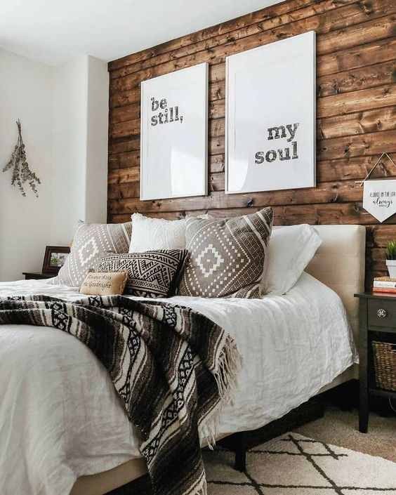 Rustic Bedroom Ideas: Catchy Bright Decor