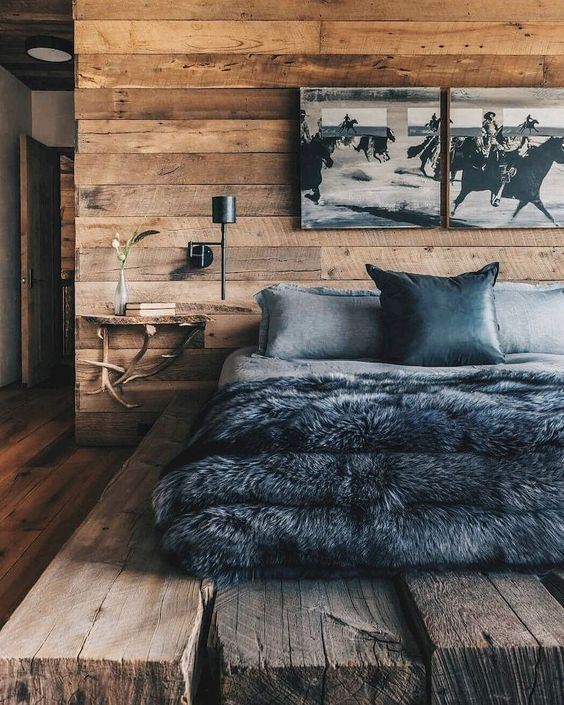 Rustic Bedroom Ideas: Stunning Wood Decor