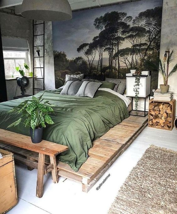 rustic bedroom ideas 6