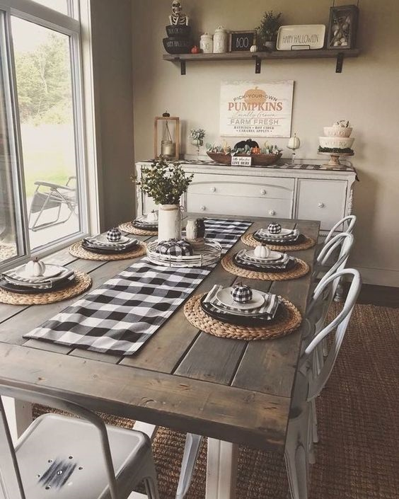 Rustic Dining Room Ideas 1