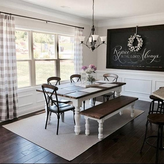 Rustic Dining Room Ideas 2