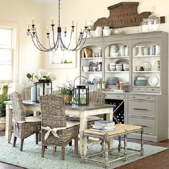 Rustic Dining Room Ideas 7
