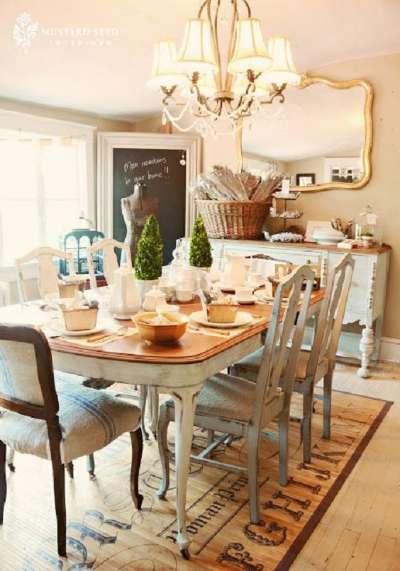 Rustic Dining Room Ideas 9