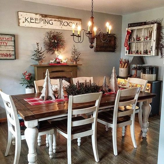 Rustic Dining Room Ideas 14