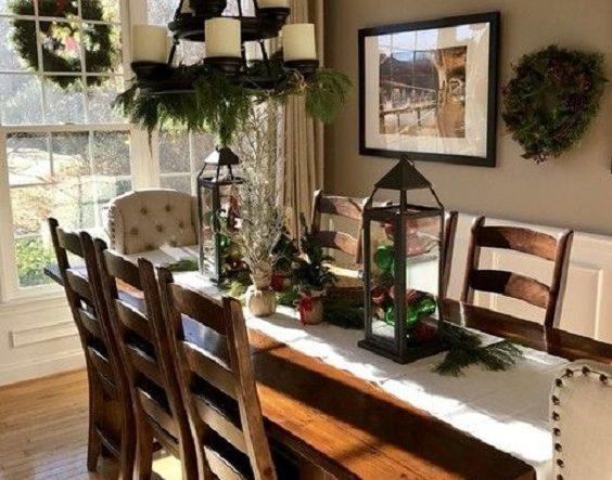 Rustic Dining Room Ideas 15