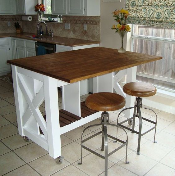 small kitchen island ideas 19