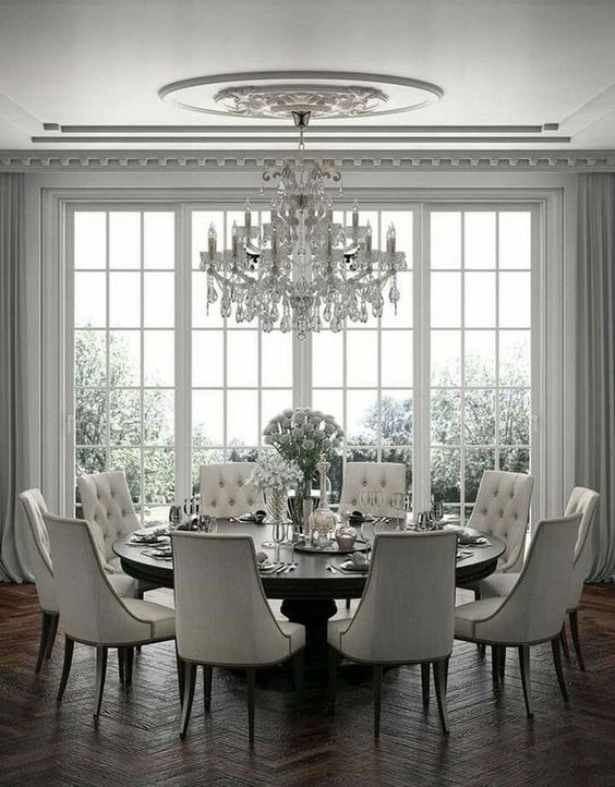 transitional dining room ideas 11
