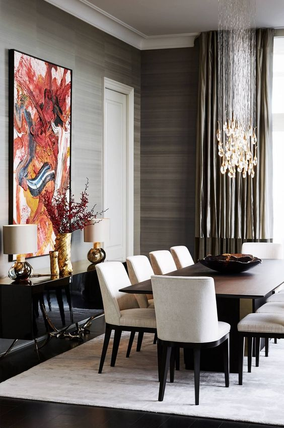 transitional dining room ideas 13