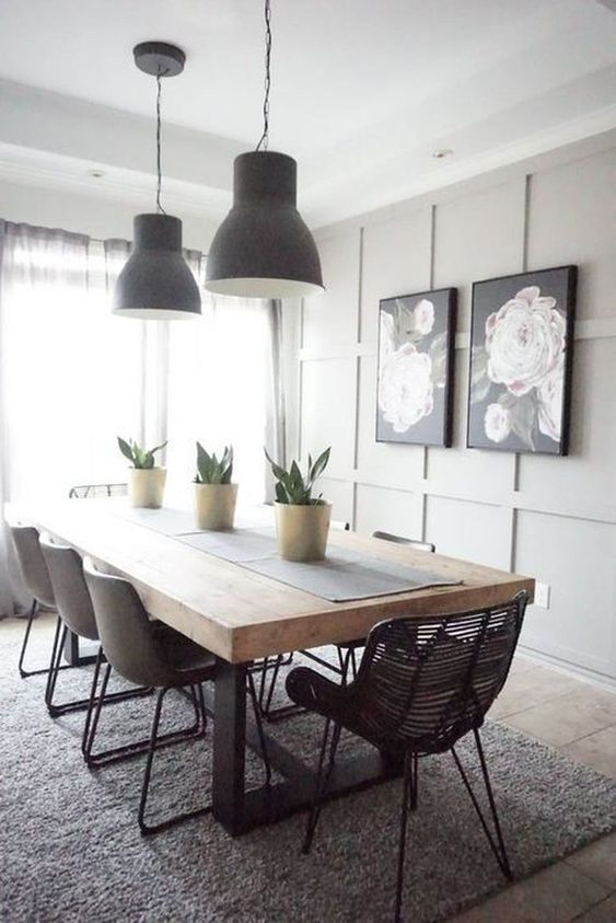 Transitional Dining Room: Stylish Neutral Decor