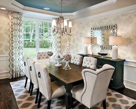 transitional dining room ideas 20