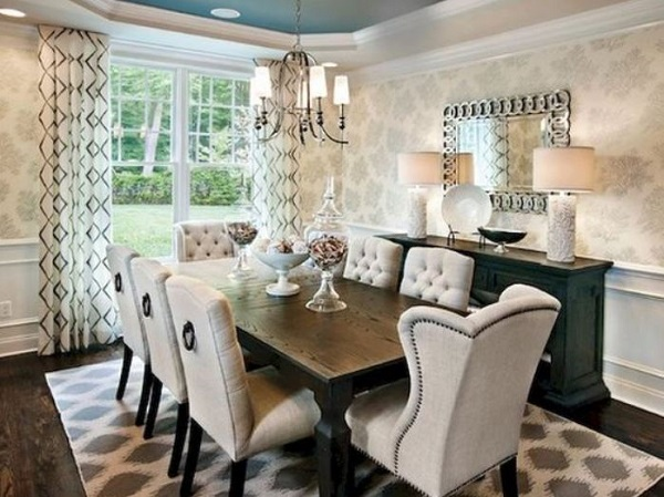 transitional dining room ideas feature
