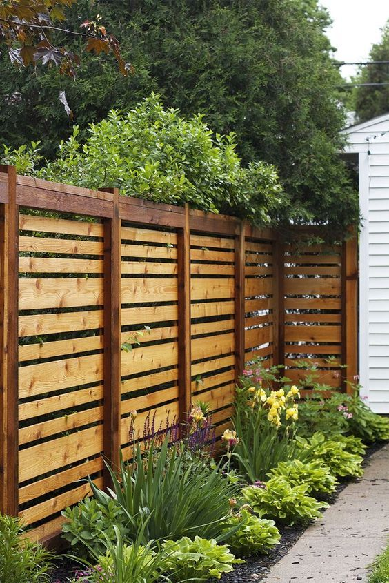 Backyard Landscaping Ideas: Catchy Fence Decor