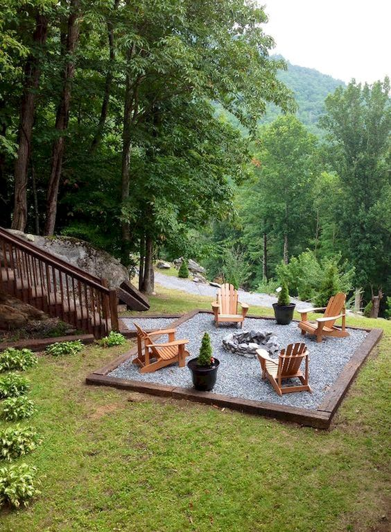 Backyard Patio Ideas: Simple Earthy Design