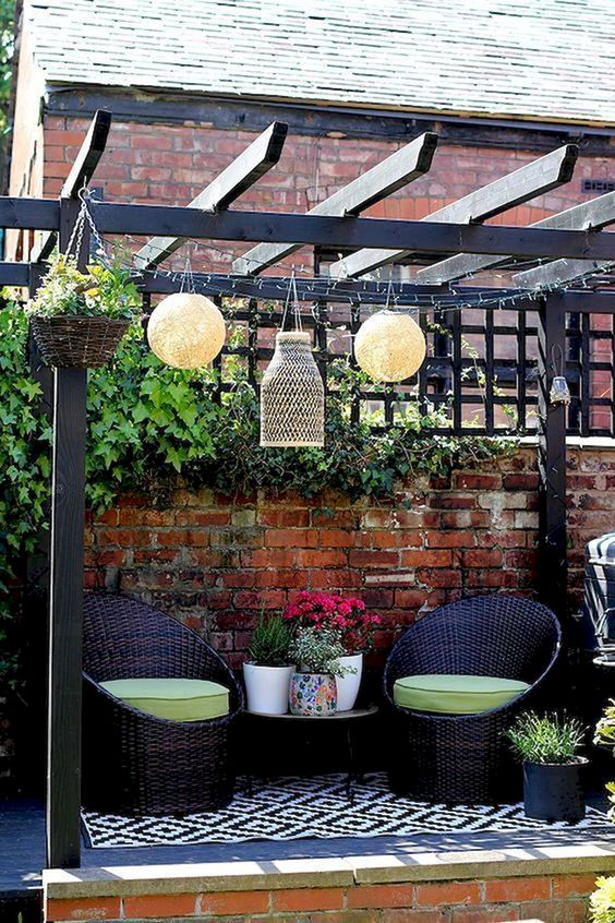 Backyard Patio Ideas: Cozy Intimate Design