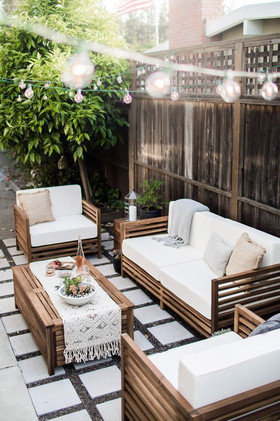 Backyard Patio Ideas: Gorgeous Chic Decor