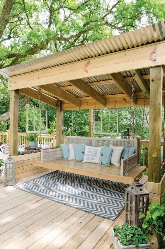 Backyard Patio Ideas: Catchy Fun Design
