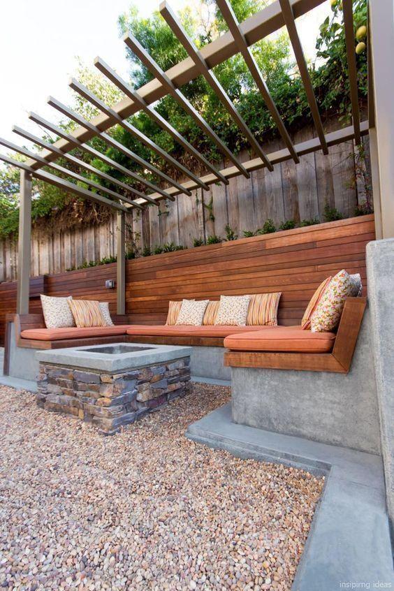 Backyard Patio Ideas: Cozy Rustic Design