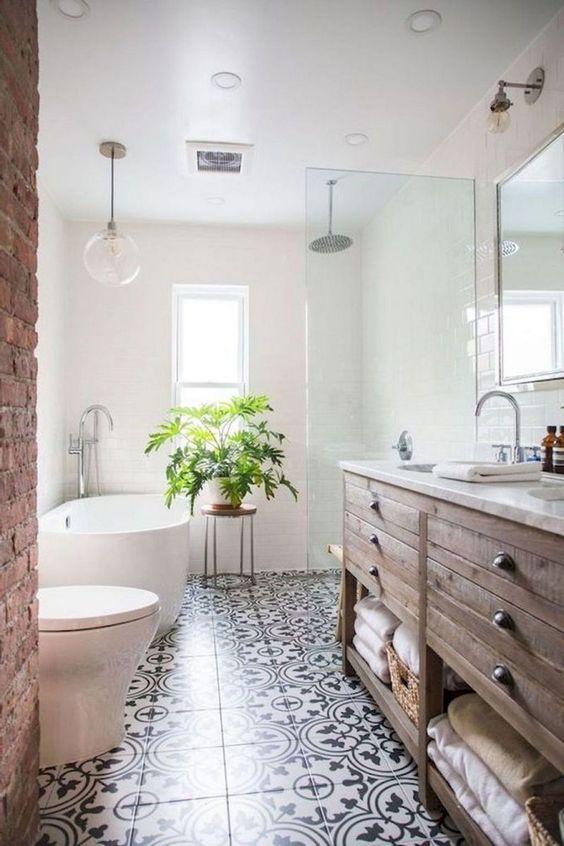 Bathroom Decor Ideas: Catchy Bohemian Style