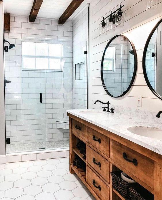Bathroom Decor Ideas: Gorgeous Farmhouse Style