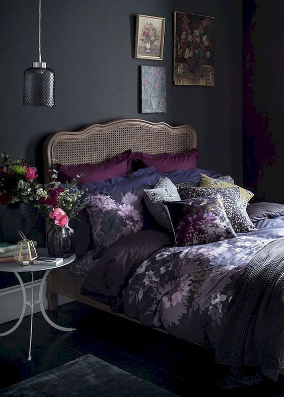 Dark Bedroom 13