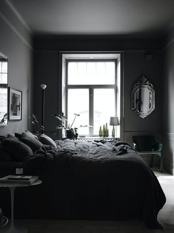Dark Bedroom Ideas: Enchanting Neutral Decor