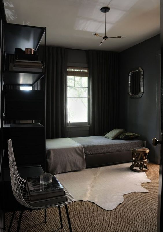 Dark Bedroom Ideas: Simply Elegant Decor