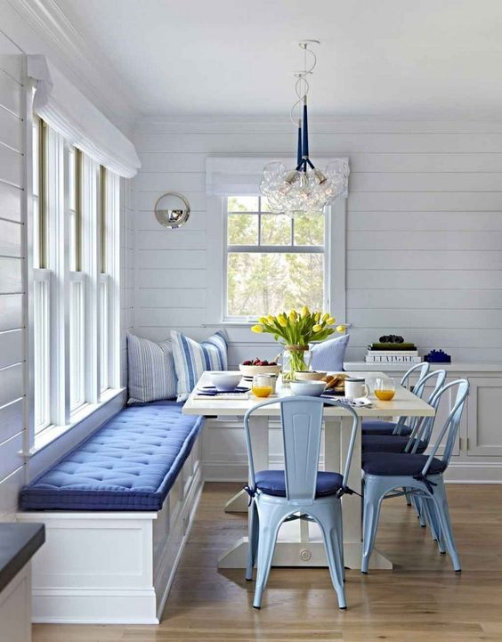 Dining Room Bench: Gorgeous Nautical Design