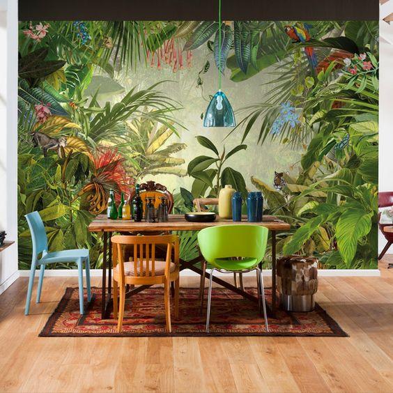 Dining Room Wallpaper Ideas 13