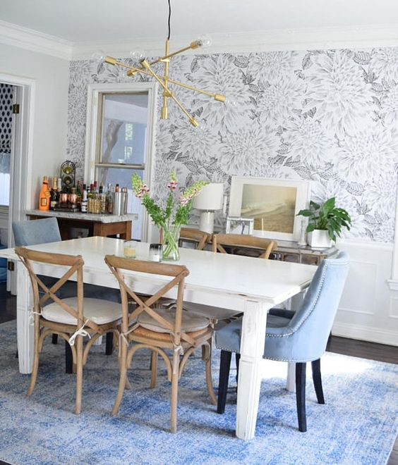 Dining Room Wallpaper Ideas 14