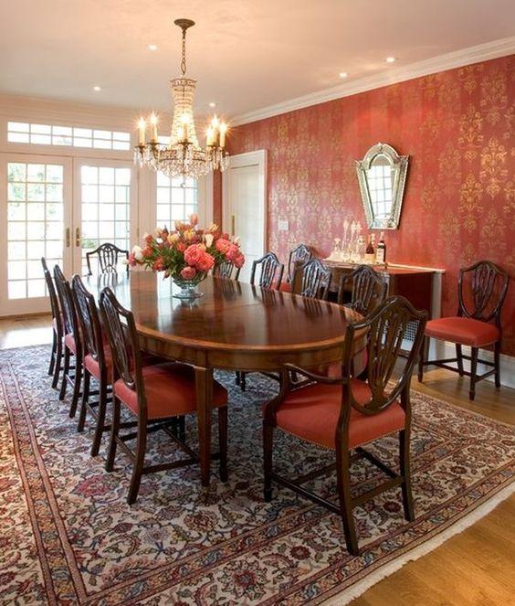 Dining Room Wallpaper Ideas: Dining Room Wallpaper Ideas: 20+ Unique Trendy Decor To