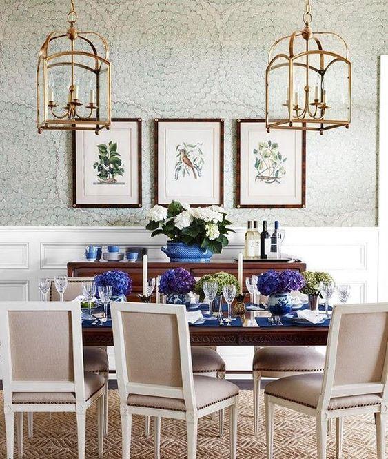 Dining Room Wallpaper Ideas 19