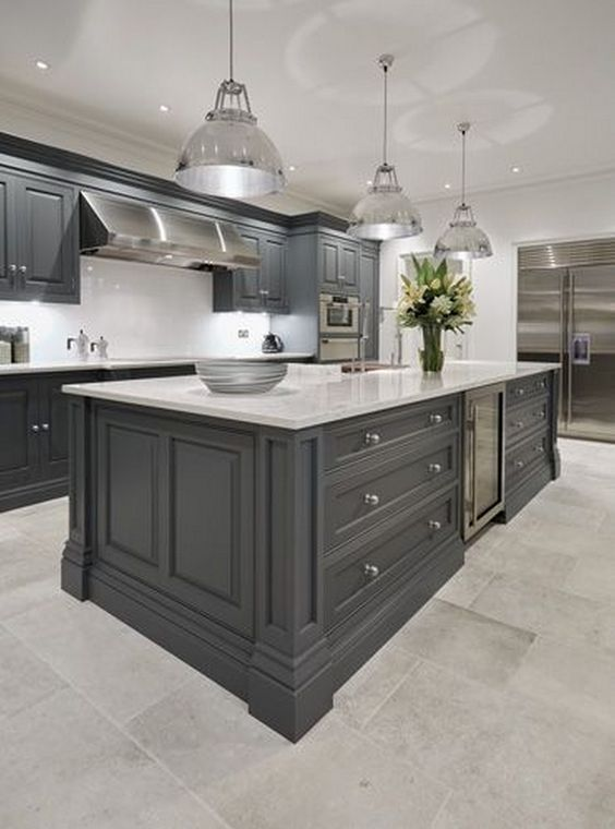 Gray Kitchen Ideas 16
