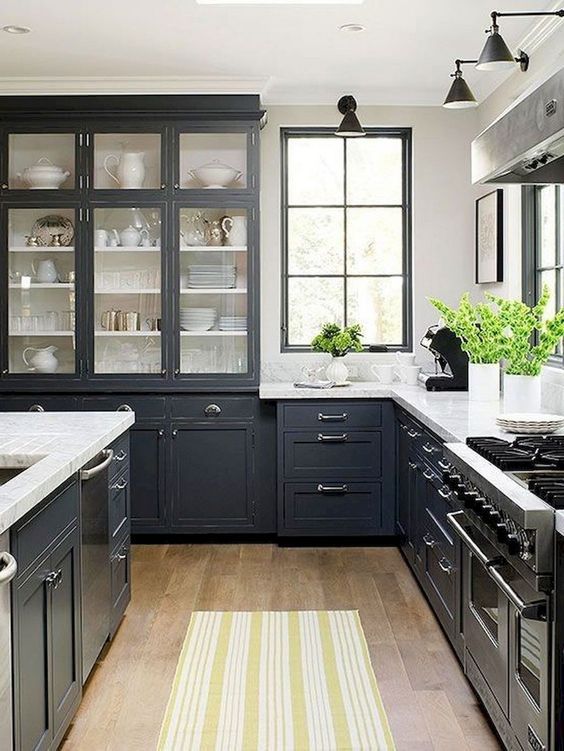 Gray Kitchen Ideas 19
